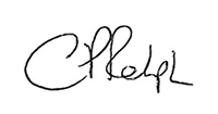 Charlie Ralph Signature - Chief Financial Officer